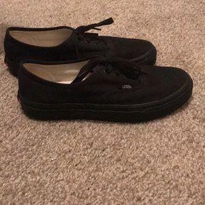 Black Vans Size 7 :))) Great Shoes!!